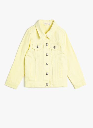 Koton Kids Ceket Sarı